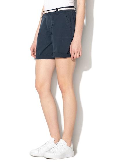 Esprit Pantaloni scurti chino cu o curea cu aspect tesut Femei