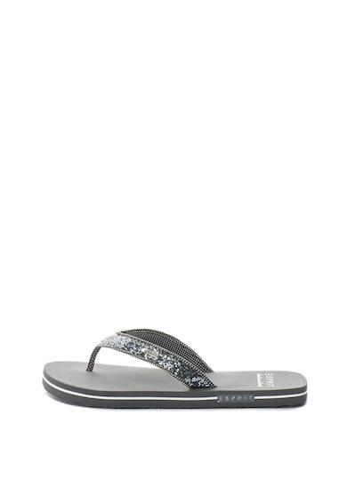 Esprit Flip-flop papucs csillámos részletekkel női