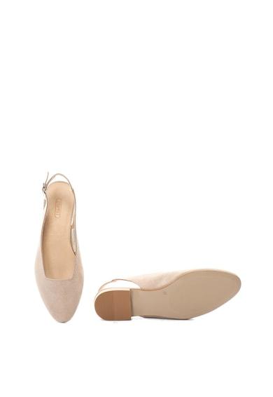 Esprit Pantofi slingback de piele intoarsa Femei
