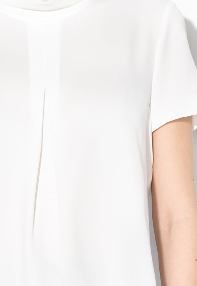 Esprit Bluza vaporoasa cu guler inalt Femei