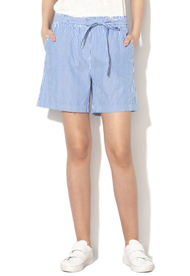 EDC by Esprit Pantaloni scurti cu model in dungi si terminatie pliabila Femei
