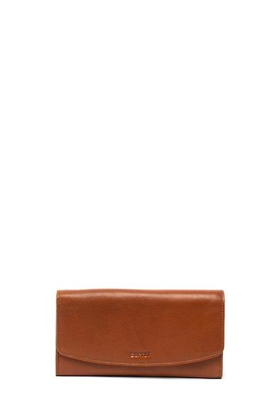 EDC by Esprit Bőr pénztárca dombornyomott logóval női