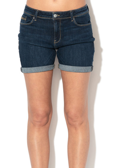 Esprit Pantaloni scurti din denim si bumbac organic Femei