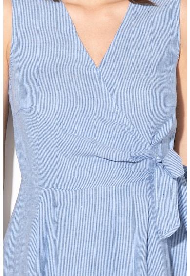 Esprit Ленена рокля с деколте със застъпен дизайн Жени