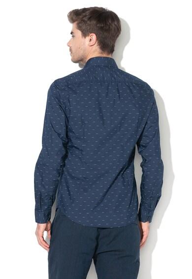 Esprit Camasa slim fit cu imprimeu geometric Barbati