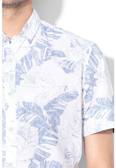 Esprit Camasa slim fit cu imprimeu tropical Barbati