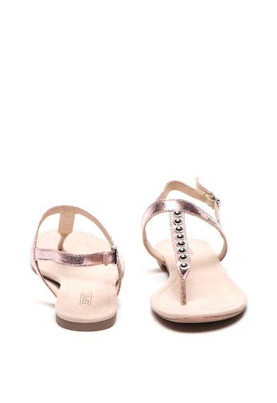 Esprit Sandale de piele ecologica, cu bareta separatoare Femei