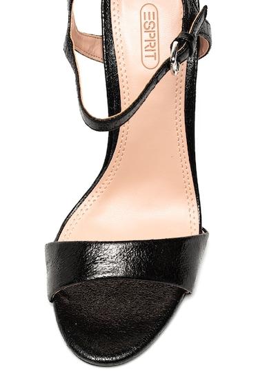 Esprit Sandale de piele ecologica cu toc inalt Femei