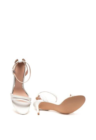 Esprit Sandale de piele ecologica, cu bareta pe glezna Femei