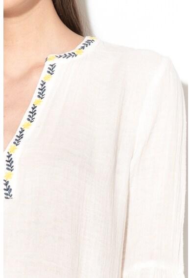 EDC by Esprit Блуза с флорална бродерия Жени