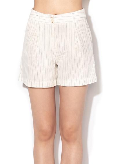 Esprit Lentartalmú hajszálcsíkos rövidnadrág női
