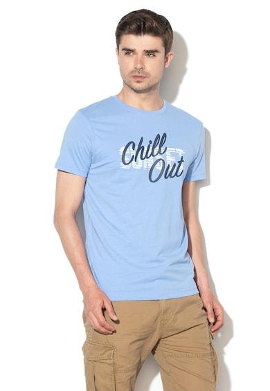 Esprit Regular fit póló gumis feliratos mintával férfi