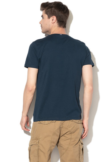 Esprit Regular fit feliratos póló férfi
