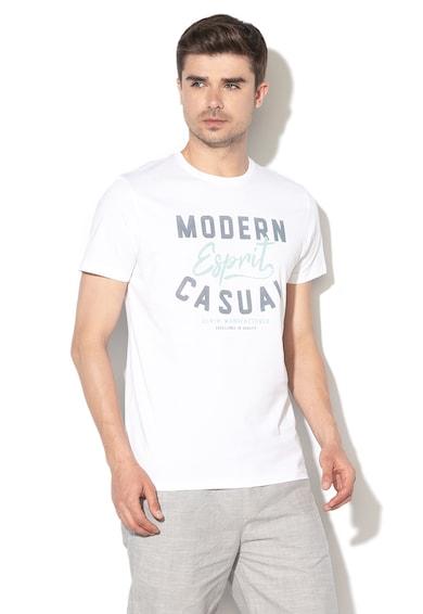 Esprit Regular fit logómintás póló férfi