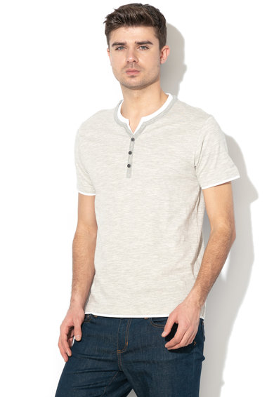 Esprit Organikus pamut póló 2-in-1 hatással 1 férfi