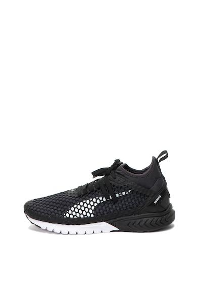 Puma Pantofi sport slip-on din material textil Ignite Dual Netfit Barbati