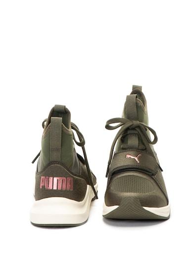 Puma Phenom magas szárú fitnesz sneakers cipő hálós anyagbetétekkel női