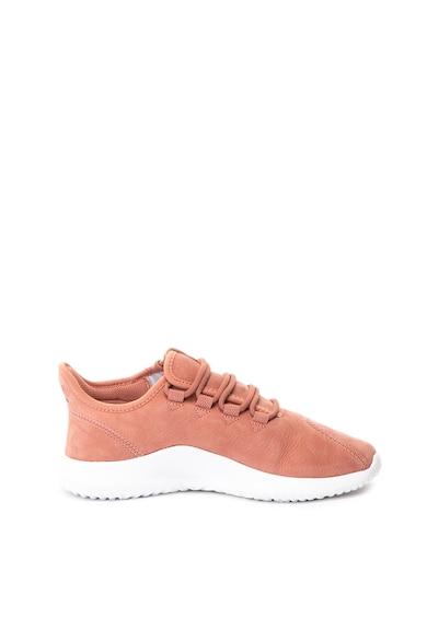adidas Originals Pantofi sport slip-on de piele nabuc Tubular Shadow Femei
