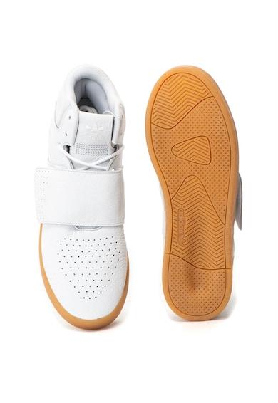 Adidas ORIGINALS Tubular Invader Strap középmagas bőr sneakers cipő férfi