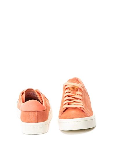 adidas Originals Pantofi sport din piele intoarsa Court Vintage Femei