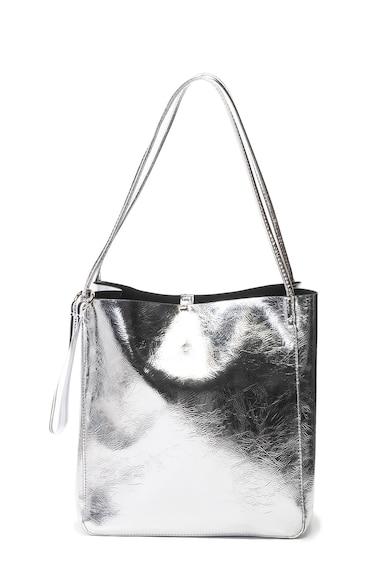 Tally Weijl Műbőr tote táska fémes hatással női