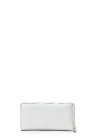 Trussardi Jeans Portofel de piele ecologica, cu fermoar T-Easy Femei