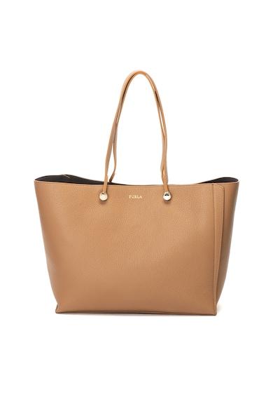 Furla Кожена шопинг чанта Eden Жени