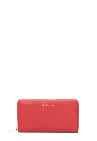 COCCINELLE Saffiano bőr pénztárca logórátéttel női