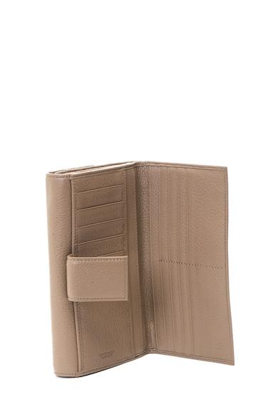COCCINELLE Portofel de piele moale metalizata Femei