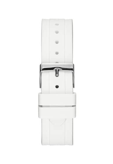 Guess Кварцов часовник със силиконова каишка Жени