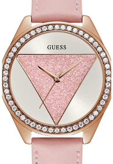 Guess Ceas decorat cu cristale Femei