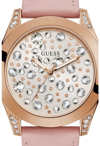 Guess Аналогов часовник с кристали Жени