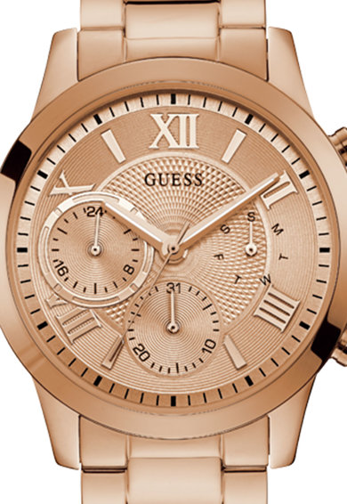 Guess Мултифункционален часовник с метална верижка Жени
