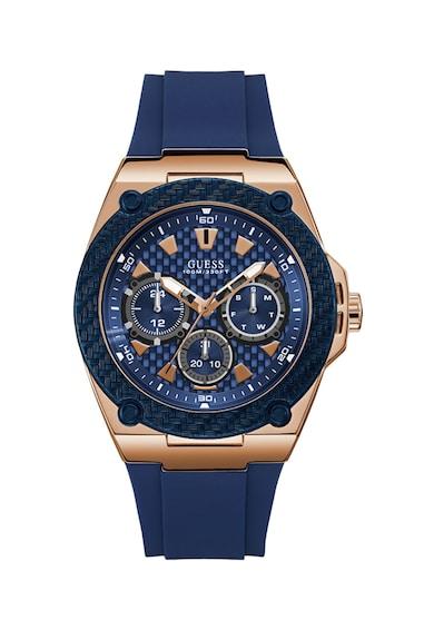 Guess Мултифункционален часовник със силиконова каишка Мъже