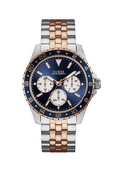 Guess Мултифункционален часовник с метална верижка Мъже