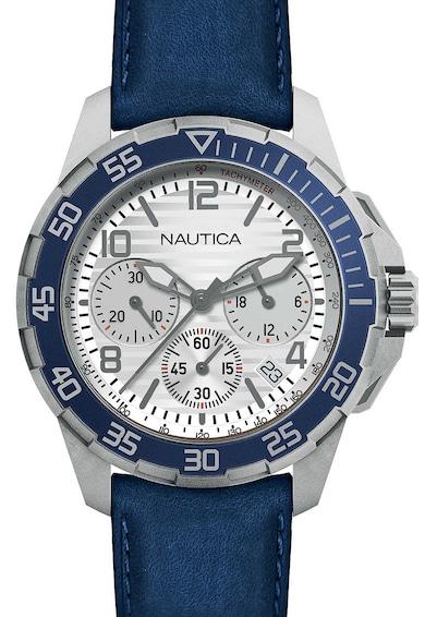 Nautica Ceas cronograf cu o curea de piele Barbati
