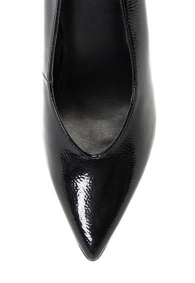 Guess Pantofi de piele ecologica cu aspect lacuit Femei