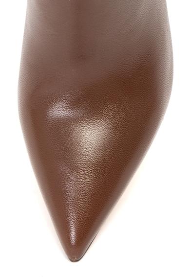 Guess Botine de piele cu varf ascutit Femei