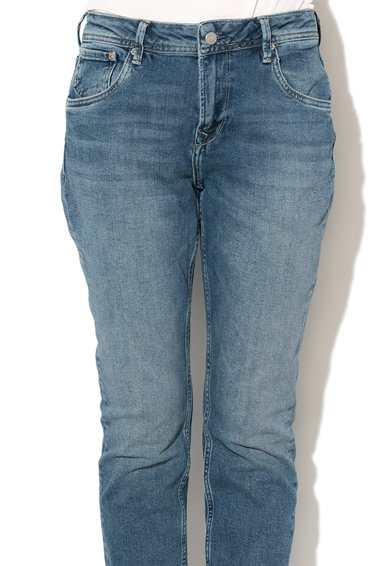 Pepe Jeans London Blugi mom fit Violet Femei