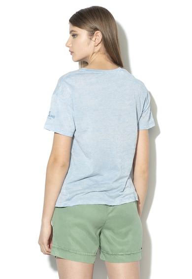 Pepe Jeans London Tricou cu imprimeu logo Sharon Femei