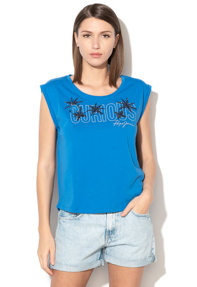 Pepe Jeans London Tricou cu model text Bernardette Femei