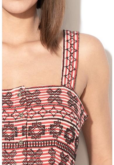 Pepe Jeans London Rochie cu model etnic Samay Femei