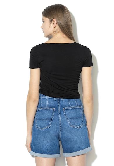 Pepe Jeans London Tricou cu logo Carrie Femei