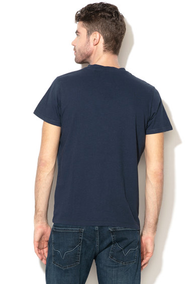 Pepe Jeans London Tricou regular fit din amestec de in Ealing Barbati