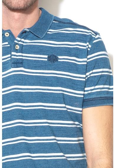 Pepe Jeans London Раирана тениска Carles с яка Мъже