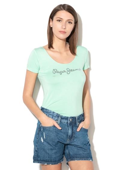 Pepe Jeans London Tricou decorat cu paiete Beatriz Femei