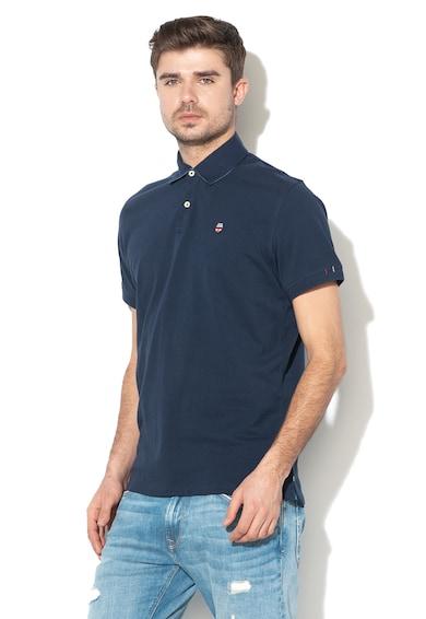 Pepe Jeans London Тениска Peter с яка Мъже
