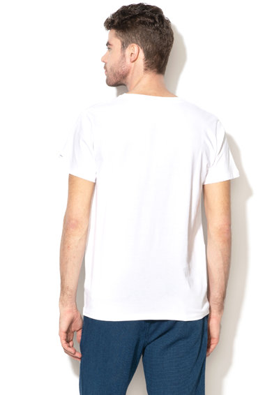 Pepe Jeans London Tricou regular fit cu imprimeu grafic Jacob Barbati