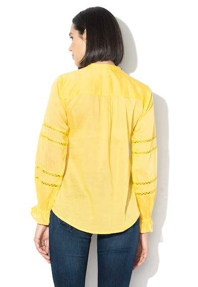 Pepe Jeans London Camasa cu guler tunica si terminatie asimetrica Isabelle Femei