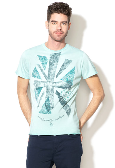 Pepe Jeans London Тениска Ian с щампа Мъже